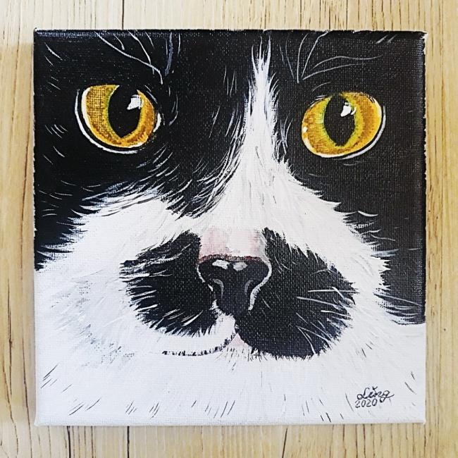 貓鼻子似顏繪 / 賓士 (僅1幅)